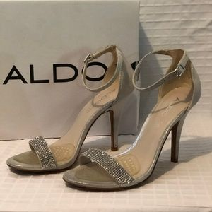 ALDO Rhinestone Heels Dress Shoes